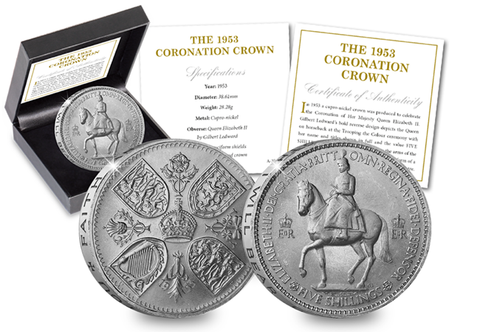 The 1953 Queen Elizabeth II Coronation Crown - The Westminster Collection International