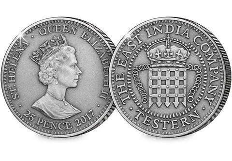 2017 Silver Testern 'Portcullis Money' Coin - The Westminster Collection International