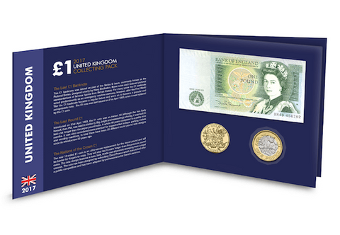 The Uncirculated £1 Collecting Pack