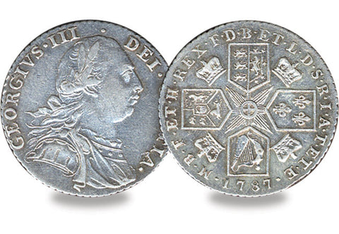 1787 George III Shilling - The Westminster Collection International