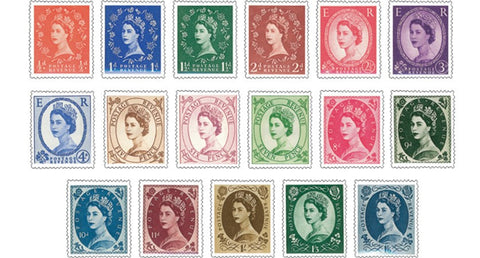 Queen Elizabeth II Secret Watermark Collection - The Westminster Collection International