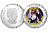 The 2016 Canada Royal Visit Silver Coin - The Westminster Collection International