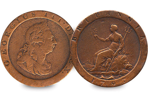 King George III 'Cartwheel' Penny - The Westminster Collection International