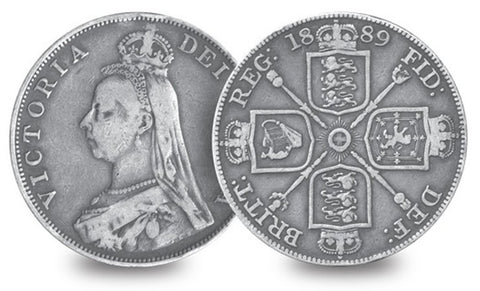 1887-1890 Queen Victoria Double Florin - The Westminster Collection International