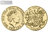 2016 UK 'Last Round Pound' CERTIFIED BU £1 - The Westminster Collection International