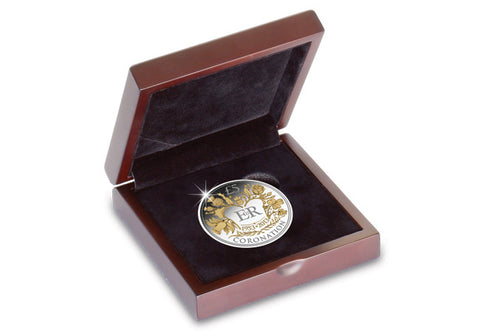 Wooden Coin Display Case - The Westminster Collection International
