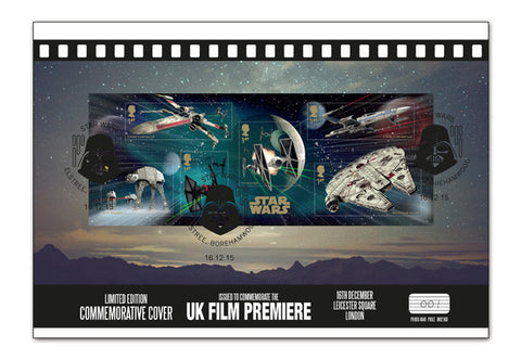 Star Wars UK 'Fighters' Commemorative Cover - The Westminster Collection International