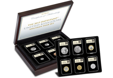 2015 DateStamp™ UK Specimen Year Set - The Westminster Collection International