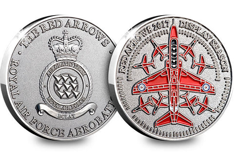 Red Arrows 2017 Display Season Medal - The Westminster Collection International