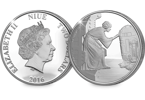 The Offical Star Wars 'Princess Leia' 1oz Coin