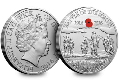 The Battle of the Somme Centenary Coin - The Westminster Collection International