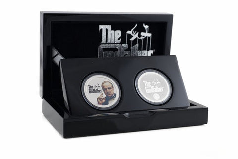 The Official Godfather Silver Coin Pair