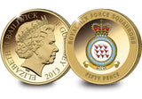 The Red Arrows Gold-Plated Coin - The Westminster Collection International