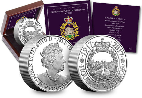 Prince George of Cambridge Silver Coin Set - The Westminster Collection International