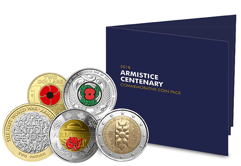 2018 Allied Nations Armistice Centenary Pack - The Westminster Collection International