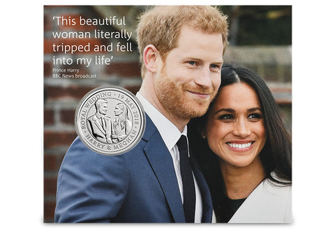 UK 2018 The Royal Wedding £5 BU Pack