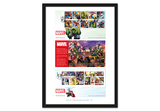 The Ultimate Limited Edition MARVEL Comics Framed Presentation - The Westminster Collection International