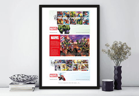 The Ultimate Limited Edition MARVEL Comics Framed Presentation – SAVE £10.00 - The Westminster Collection International