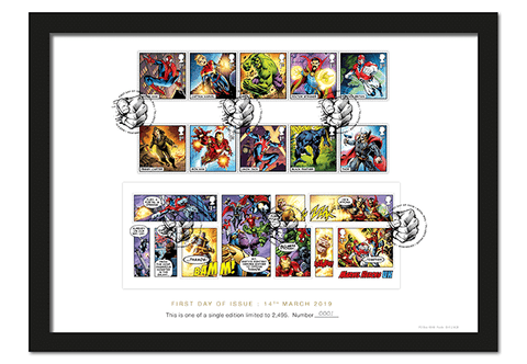Own Royal Mail's NEW MARVEL Comics Stamps - The Westminster Collection International