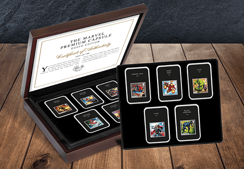 Own the MARVEL Comics Stamps Premium Capsule Editions - The Westminster Collection International