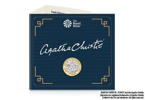 UK 2020 Agatha Christie £2 BU Pack