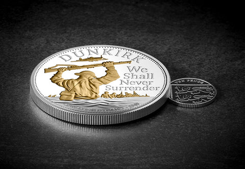The Dunkirk 80th Anniversary Silver 5oz Coin