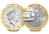 UK 2018 Captain Cook £2 BU Pack - The Westminster Collection International