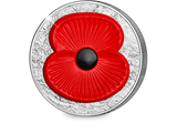 The 2016 Masterpiece Silver 5oz Poppy Coin - The Westminster Collection International