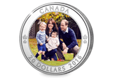The 2016 Canada Royal Visit Silver Coin