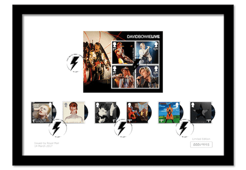 David Bowie Framed Collector Card - The Westminster Collection International