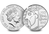 2017 DateStamp King Canute £5 Coin