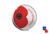 2017 Remembrance Silver £5 Poppy Coin