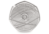 UK 2017 Isaac Newton BU 50p Pack - The Westminster Collection International