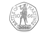 The 2016 Battle of Hastings Silver Proof 50p