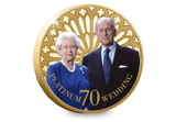 The Platinum Wedding Gold-plated Coin