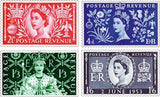 1953 Complete Coronation Stamp Collection