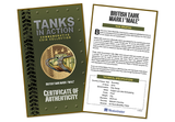 The WWI Mk I Tank Gold-plated Coin