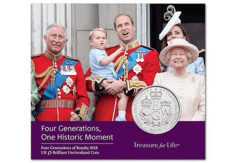 UK 2018 Four Generations of Royalty BU Pack