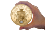 The William Shakespeare Hamlet Nano Coin - The Westminster Collection International