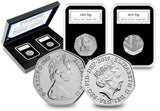 The 50th Anniversary of the 50p Pair - The Westminster Collection International