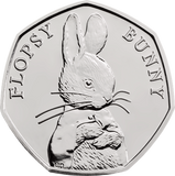 UK 2018 Flopsy Bunny BU 50p Coin Pack - The Westminster Collection International