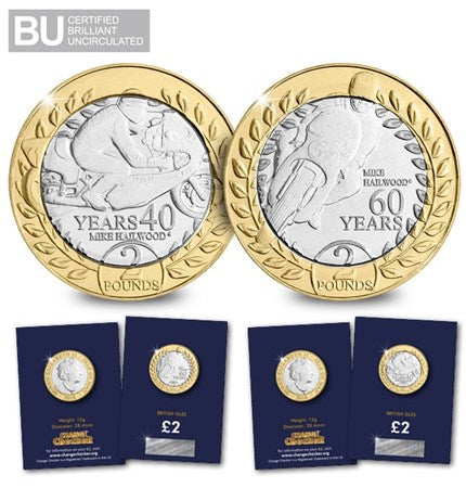 2018 Isle of Man TT Race £2 Coin duo - The Westminster Collection International