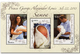 'The Birth of a King' Prince George Ltd Edition Philatelic Book