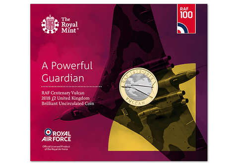 UK 2018 RAF Vulcan £2 BU Pack - The Westminster Collection International