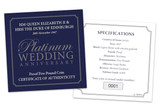 The Platinum Wedding Five Pound Proof Coin