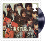 Pink Floyd Stamps Framed Collector Card