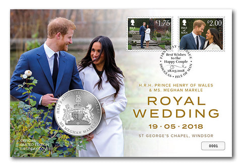 The Royal Wedding First Day Medal Cover - The Westminster Collection International