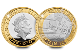 UK 2018 Captain Cook Silver Proof £2 Coin - The Westminster Collection International