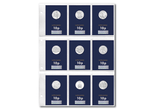 2018 Complete Certified 'Early Strike' 10p Set - The Westminster Collection International