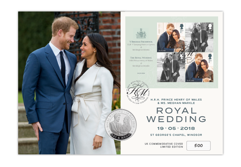 The Royal Wedding UK Coin Cover - The Westminster Collection International